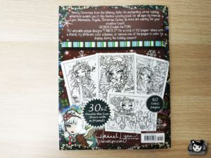 a whimsy girls christmas coloring book hannah lynn