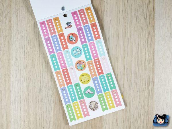 Stickerbook Miss Maker mini