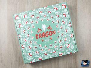 Inkybox box de septembre 2018 Dragon